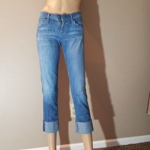 Citizens of humanity cropped straight jeans 24